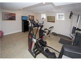 Your private exercise space.