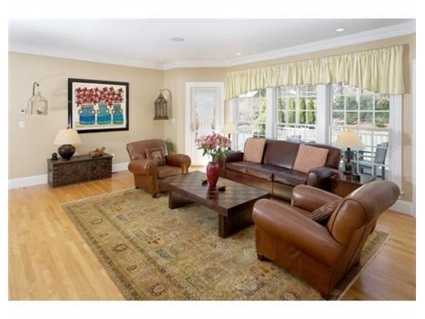 A cozy family room.