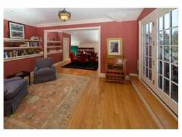 The home has 8,500 square feet of living space.