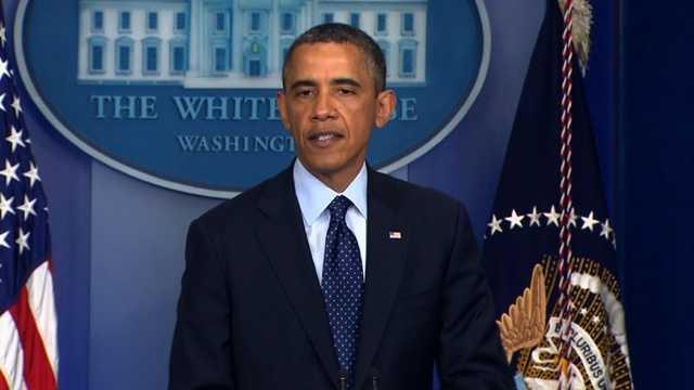 Obama on Boston explosions