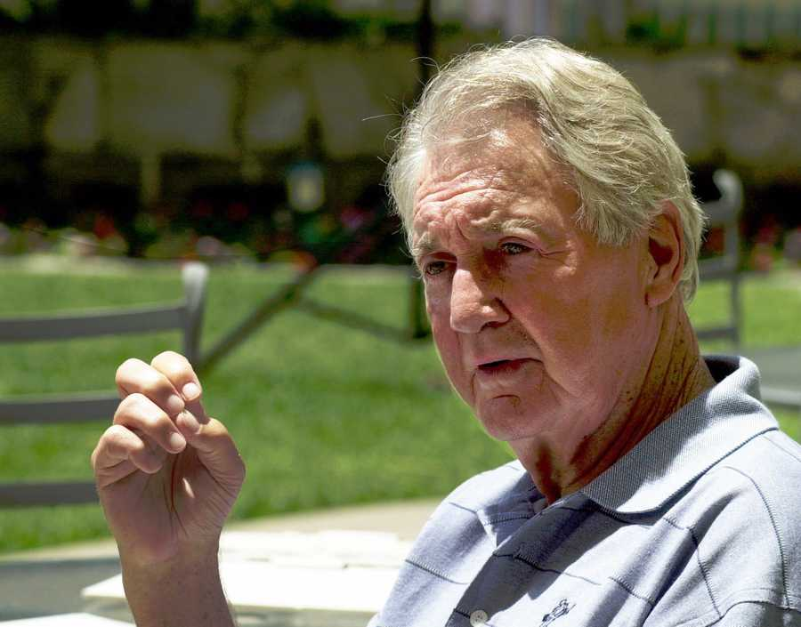 Pat Summerall was the deep-voiced NFL player-turned-broadcaster who spent half of his four decades calling sports famously paired with John Madden. Summerall was part of network television broadcasts for 16 Super Bowls. (May 10, 1930 – April 16, 2013)