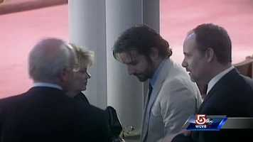 Actor Bradley Cooper arrives. He's in Boston shooting a movie.