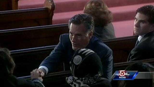 Former Gov. Mitt Romney.
