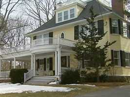 The Middlesex County town is dotted with magnificent homes.