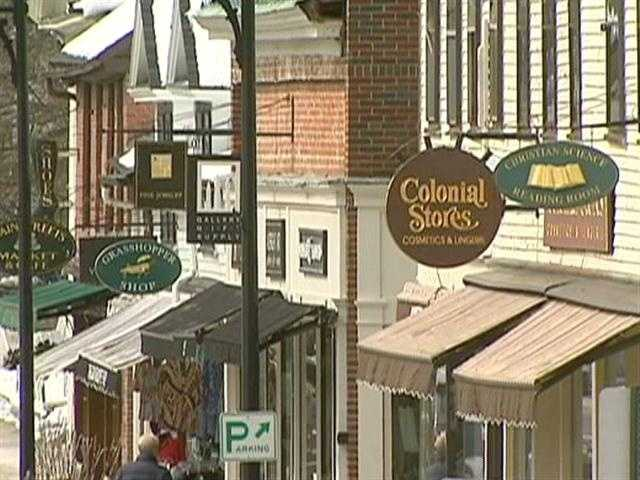 Downtown Concord feels more like a Vermont hamlet than a tony suburb.