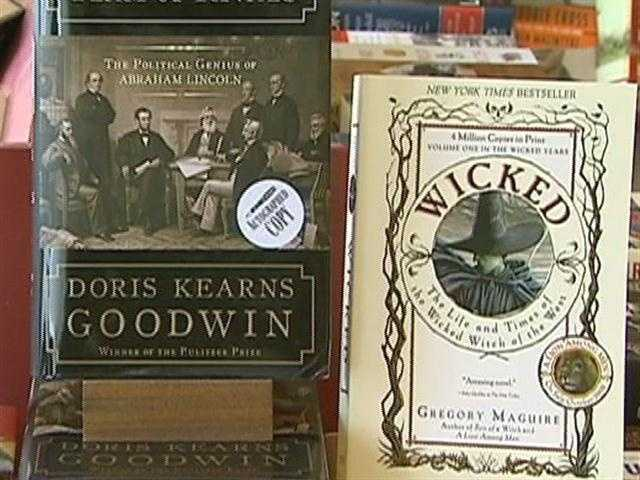 There are books by historian Doris Kearns Goodwin and Gregory McGuire.