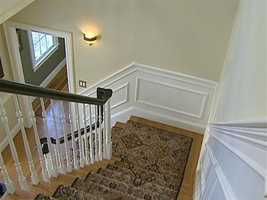 This four bedroom colonial has 4,200 square feet of living space.