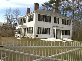 The home of Ralph Waldo Emerson is in Concord.