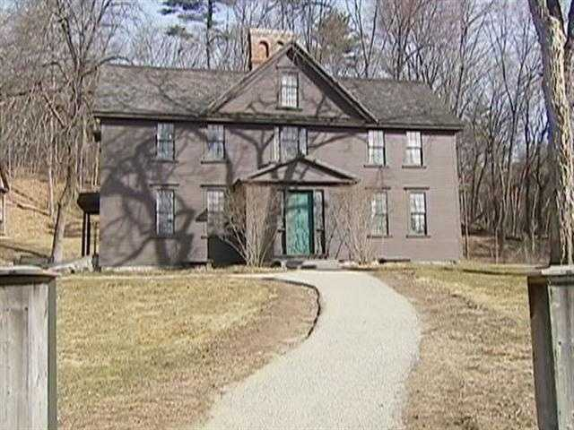 A popular attraction is the home of Louisa May Alcott.