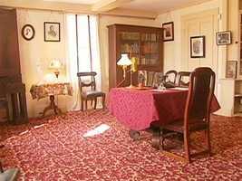 Here, Louisa May Alcott wrote the beloved novel, Little Women.