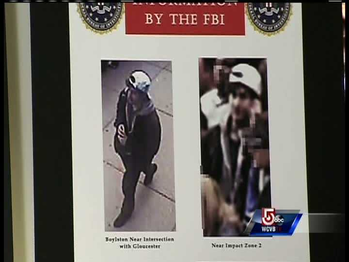 This is a picture of suspect #2. Suspect number 2 was seen placing a device down, FBI said.