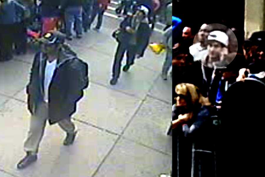 The FBI released photos of the suspects in the bombing at the Boston Marathon. The surveillance video captured not only the Tsarnaev brothers, but many who were within feet of the bomb suspects.