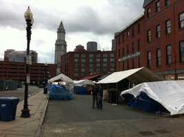 The quiet market.