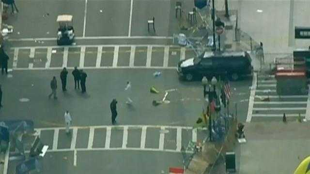 Boston's plan to reopen the streets around the Boston Marathon bombing locations.