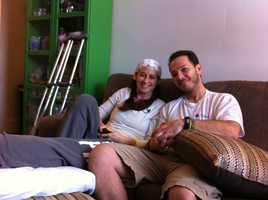 LeeAnn and Nicholas Yanni were both wounded in the bombing.