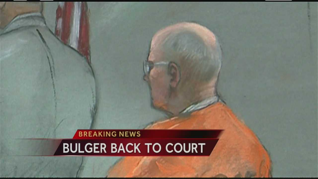 "Reputed Boston gangster James ""Whitey"" Bulger appeared in federal court in Boston at a pretrial hearing before the new judge assigned to his case."