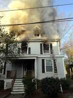 The fire at 87 Linden St. broke out just after 6:30 a.m. and quickly spread through the two-and-half-story building.