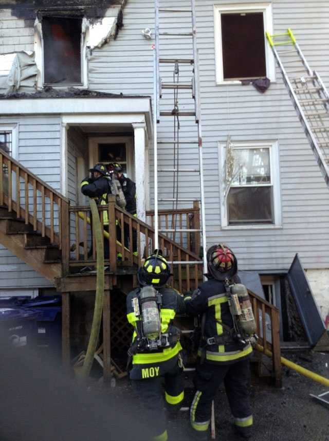 Fire officials said the city's Inspectional Services Department was going to investigate whether it was legal for that many people to be living at the house.
