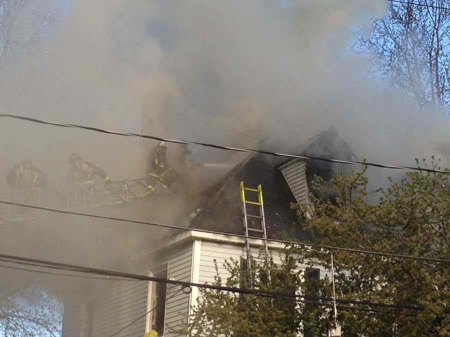 The cause of the fire is under investigation.