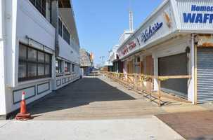 Seaside Heights, NJ after