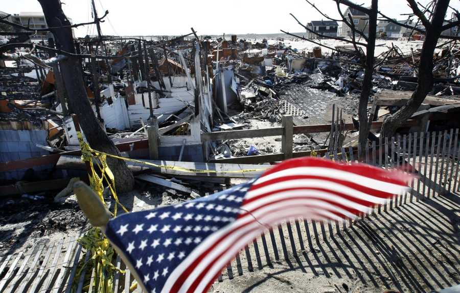Monday marks six months since Hurricane/Superstorm Sandy slammed into the NY/NJ coastline, destroying hundreds of homes and causing billions of dollars in damage.