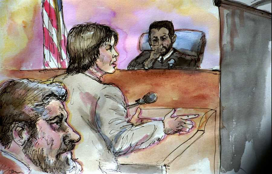 Clarke represented Kaczynski who was able to avoid the death penalty by pleading guilty to all the government's charges.