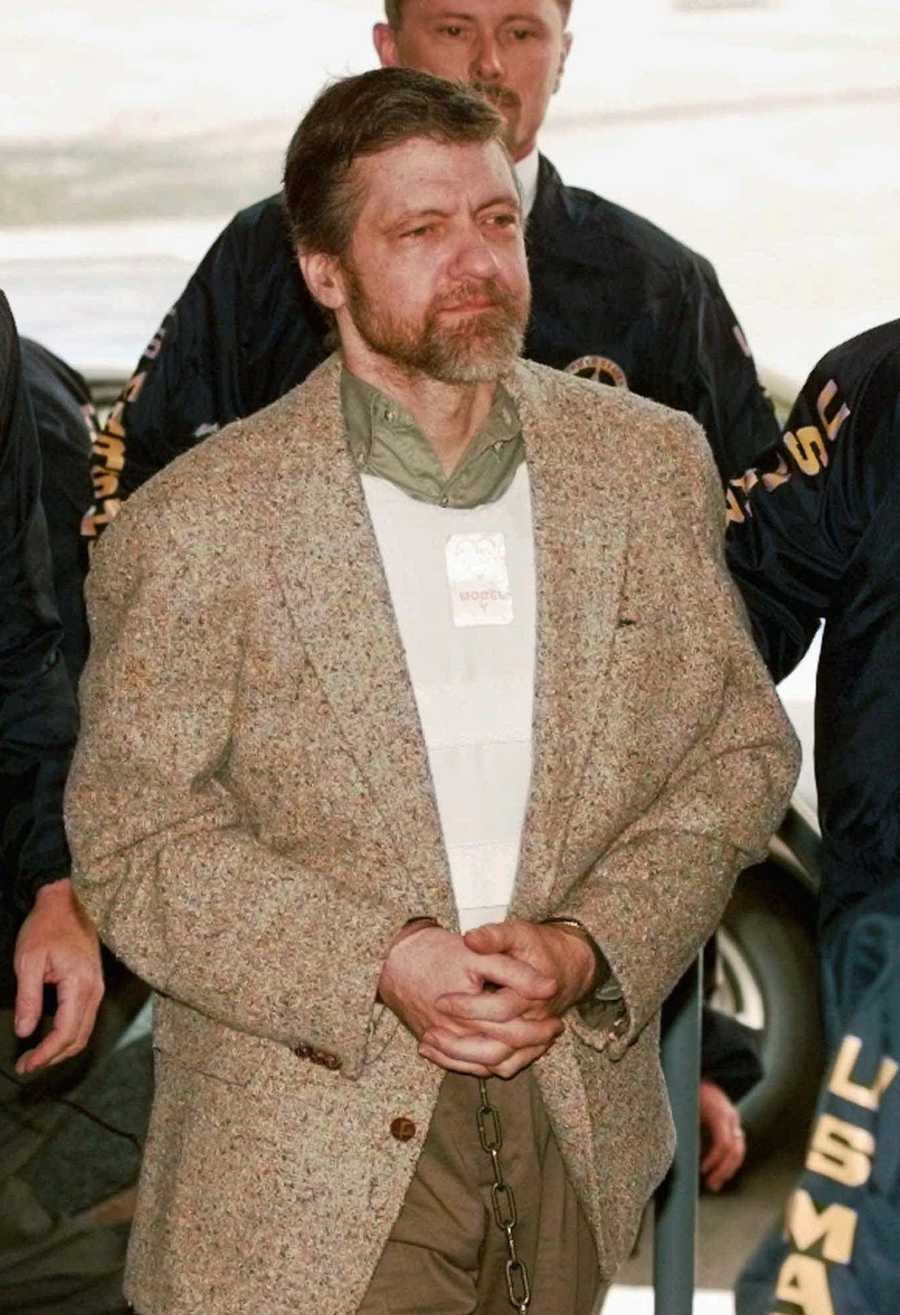 The 'Unabomber' Ted Kaczynski was another of Clarke's clients.