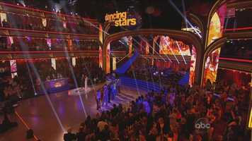 Three of the remaining couples picked their opponents, who in turn chose the style of dance. After each pair of couples danced -- doing the same style of dance to the same music -- the judges chose the winner.