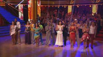 The remaining six couples had to take part in a dance-off, competing against each other in either the cha cha cha, jive or rumba.