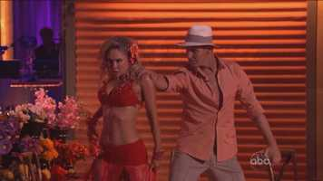 Ingo Rademacher: Judges said they thought the soap opera star's rumba was lacking in emotion and fluidity.