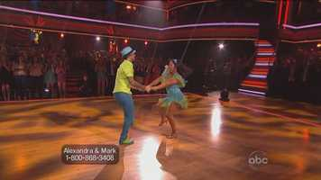 """""""More of those, please!"""" Tonioli said, likening the performance to """"an uplifting, tutti frutti, delicious cocktail of tropical flavors perfectly shaken."""""""
