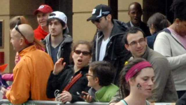 Dzhokhar and his older brother, Tamerlan Tsarnaev, are seen on Boylston Street approximately 10 to 20 minutes before the bombs went off.