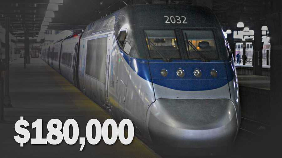 Net cost of canceled Amtrak service: $180,000