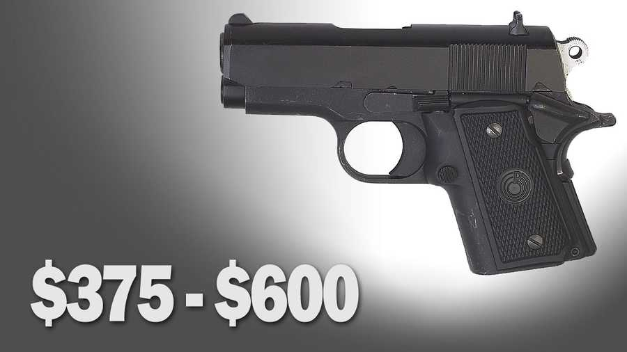List price for Ruger 9mm similar to the handgun allegedly carried by the suspects: $375 to $600.