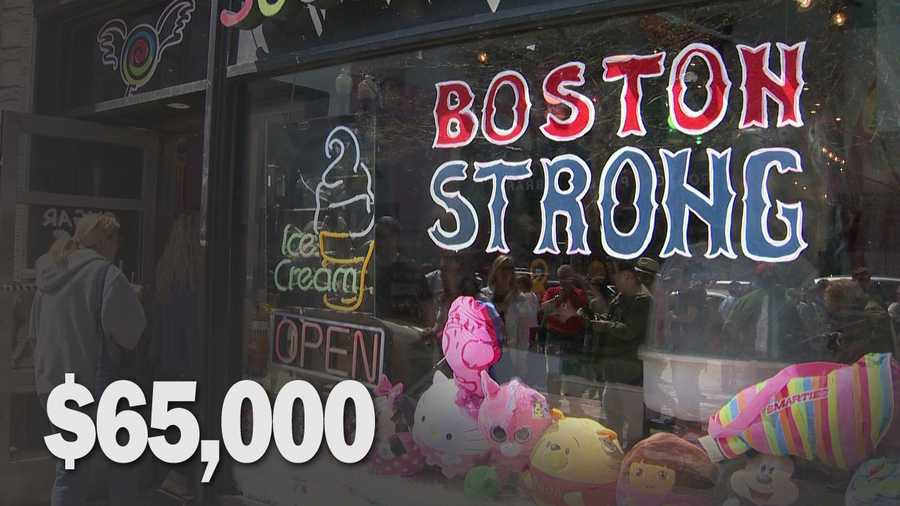 Cost to Sugar Heaven at 669 Boylston Street: $65,000