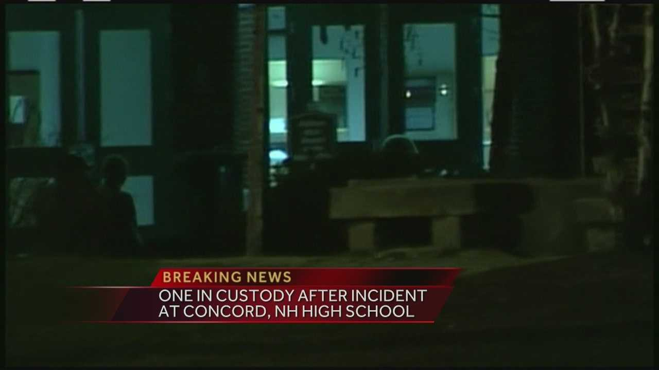 A Concord teen has been charged after an incident at the high school.