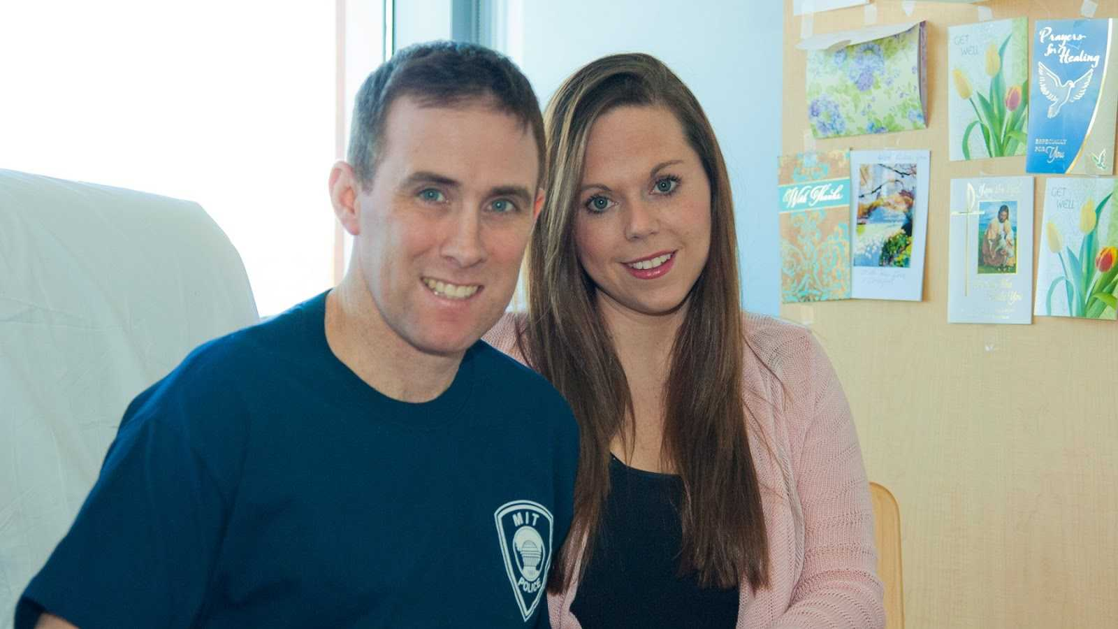 Officer Donohue & his wife Kim