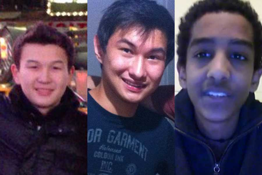 On May 1,three college friends of bombing suspect Dzhokhar Tsarnaev were accused of removing a backpack containing fireworks emptied of gunpowder from his dorm room in the days after the attacks.