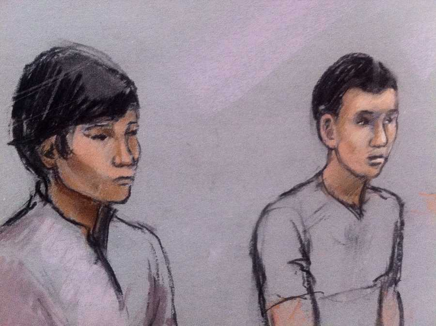 Azamat Tazhayakov and Dias Kadyrbayev, both 19-year-olds from Kazakhstan, were charged with conspiring to obstruct justice by concealing and destroying evidence.
