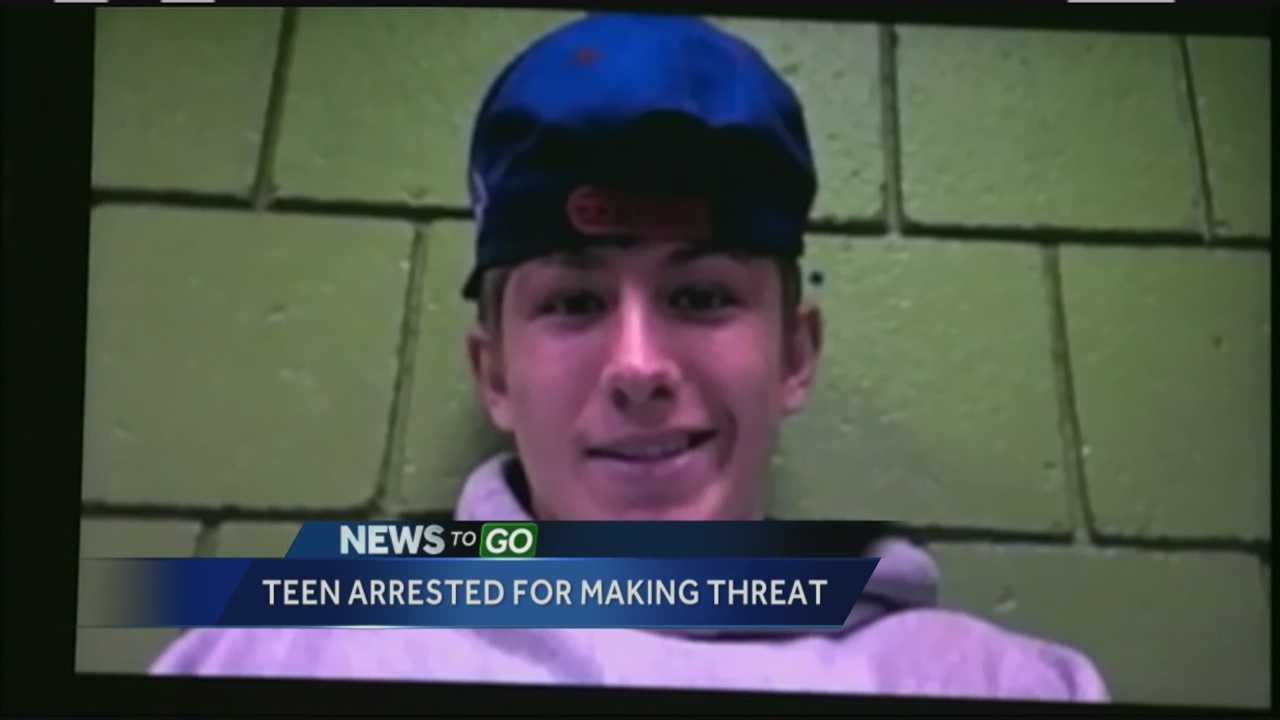 High school student accused of making 'terror' threats