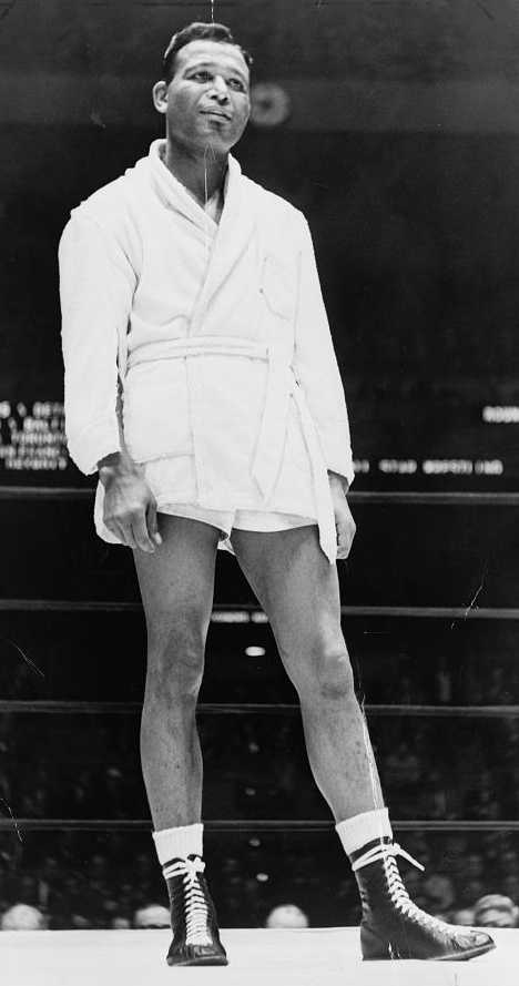 1921: Sugar Ray Robinson, often hailed as the greatest boxer of all time, is born Walker Smith Jr. in either Ailey, Georgia, (according to his birth certificate) or Detroit, Michigan, (according to his autobiography). Robinson held the world welterweight title from 1946 to 1951, and also won the world middleweight title in the latter year. He retired in 1952 following a loss while attempting to win the world light heavyweight title, but returned in 1955, eventually recapturing the middleweight title. He lost and reclaimed that title two more times over the next three years. He retired for good in 1965 with a career record of 173–19–6 and died from Alzheimer's disease at the age of 67 on April 12, 1989.