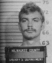 Jeffrey Dahmer, a Milwaukee, Wisc., cannibal who kept heads, skulls and body parts in his apartment for sexual gratification, was convicted of 15 murders and suspected in several others. Dahmer was beaten to death by a fellow inmate in 1994 and cremated. His parents split his ashes.