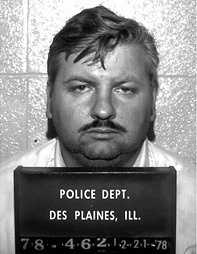 """John Wayne Gacy, also known as """"The Killer Clown,"""" was convicted in the deaths of at least 33 men and boys. He kept his victims' bodies buried under his Chicago home. Gacy was executed in 1994. He was cremated."""