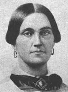 Mary Surratt was hanged in July 1865 for her role as a co-conspirator in the assassination of President Abraham Lincoln. She is buried at the Mount Olivet Cemetery in Washington DC.