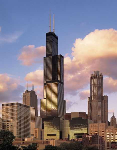 May 3, 1973 – The Sears Tower in Chicago is finished, becoming the world's tallest building at 1,451 feet.