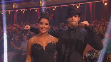 Aly Raisman and Mark Ballas performed the Argentine tango