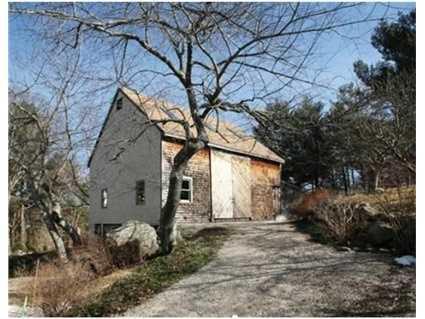A restored 3-story barn.