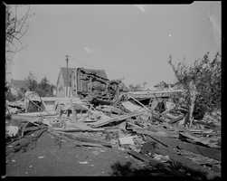 "After the Fujita scale was developed in 1971, the storm was classified as ""F4"", the second highest rating on the scale, though the National Weather Service said it was an ""F5"" tornado at times."
