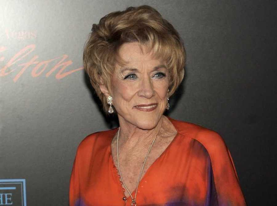 "Jeanne Cooper, the enduring soap opera star who played grande dame Katherine Chancellor for nearly four decades on ""The Young and the Restless,"" died.  (October 25, 1928 - May 8, 2013)"