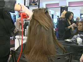 Stylists at Dellaria say their Keratin treatments are safe, with no formaldehyde.